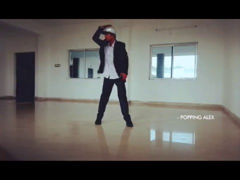 POPPING ALEX -  prabhudeva urvasi dubstep.