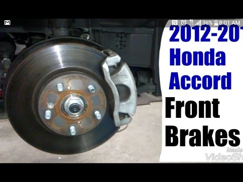 2013 2014 for Honda Accord EX//EX-L//LX-S//Sport Disc Brake Rotors and Pads Front