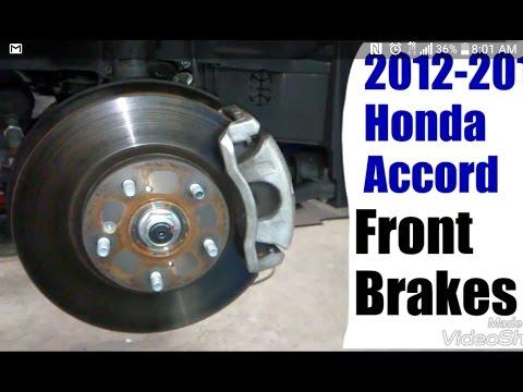 2012-2013 Honda Accord Front Brakes