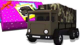 armeijan kuorma | ajoneuvon video | lasten kuorma | Army Truck | Cartoon Truck | Formation And Uses