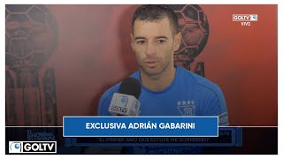ENTREVISTA CON ADRÁN GABARINI - EXCLUSIVA