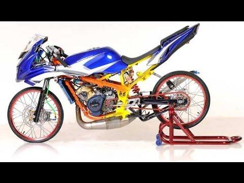 kumpulan modifikasi motor ninja rr terbaru