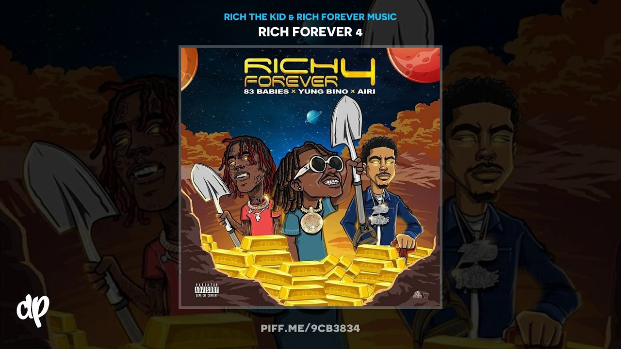 Rich Forever Music — 83 Babies, Tg3 Thr33 — Numbers [Rich Forever 4]
