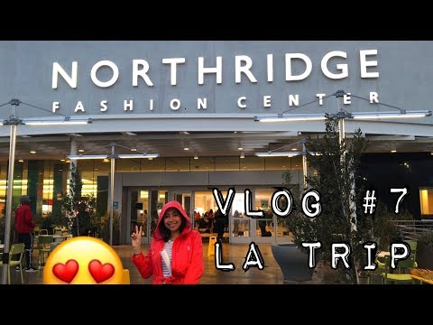 VLOG #7 - LA TRIP (NORTHRIDGE MALL and $5 CHALLENGE)