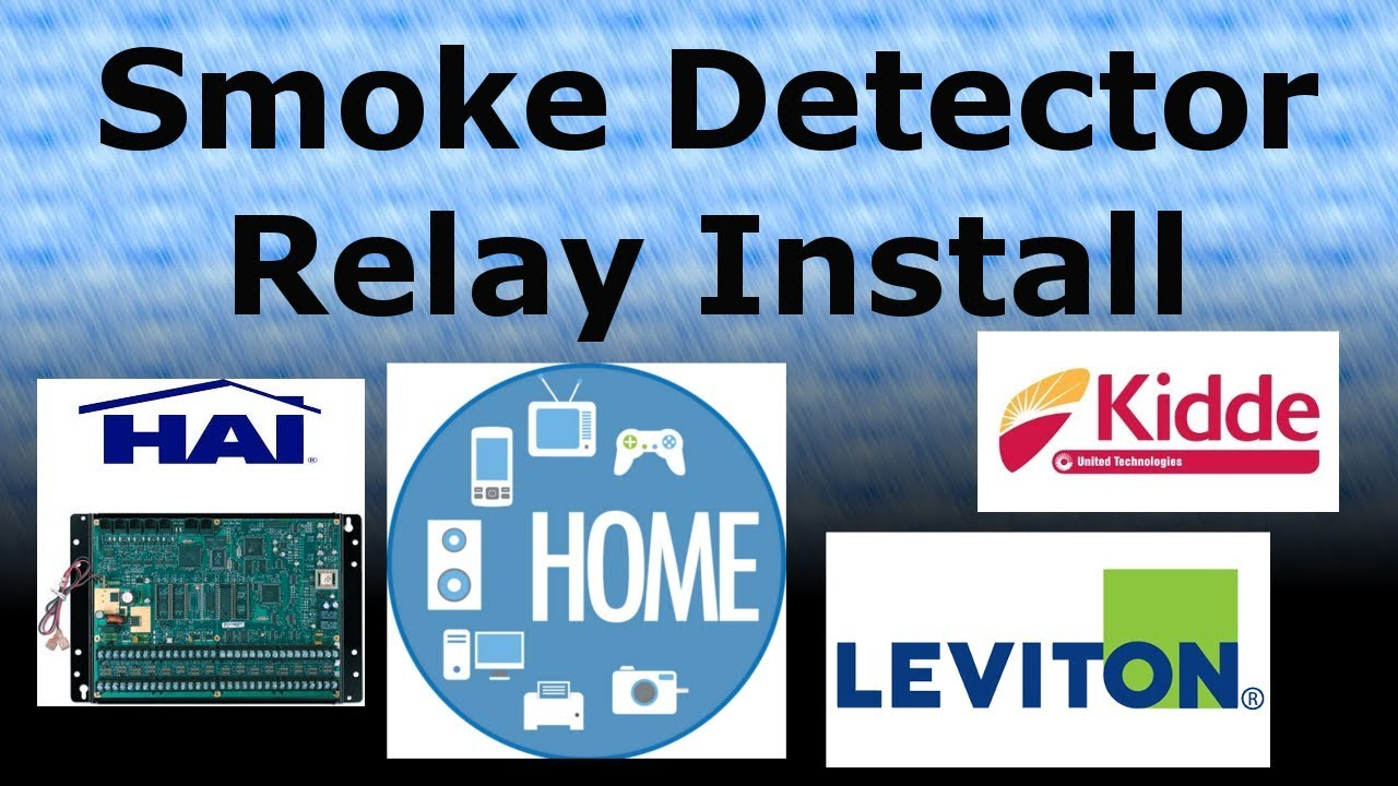 Smoke Detector Relay Install for Omni - YouTube