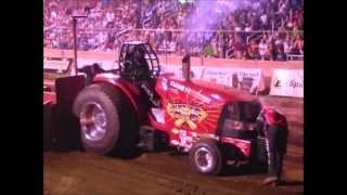 Tractor Pull, Badger State Pro Stock, St. Judes Benefit Pull 2012
