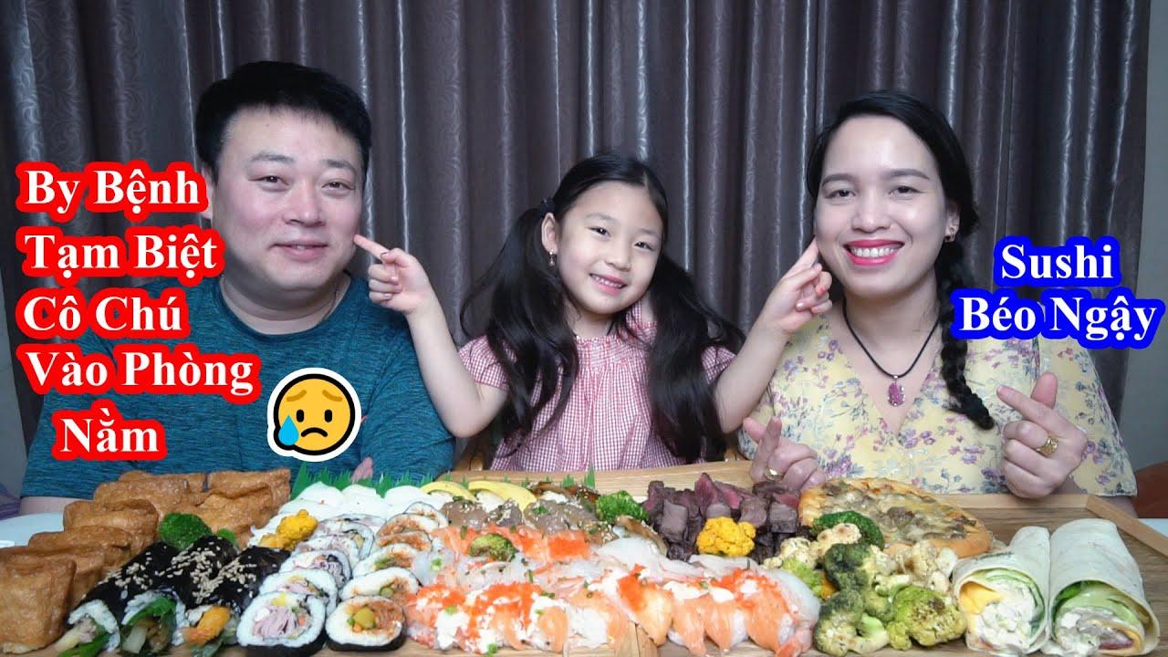 Nguyên Mâm Sushi Thập Cẩm Hoành Tráng. By Đi Học Lại 1 Ngày Bệnh Luôn [Cuộc Sống Hàn Quốc]
