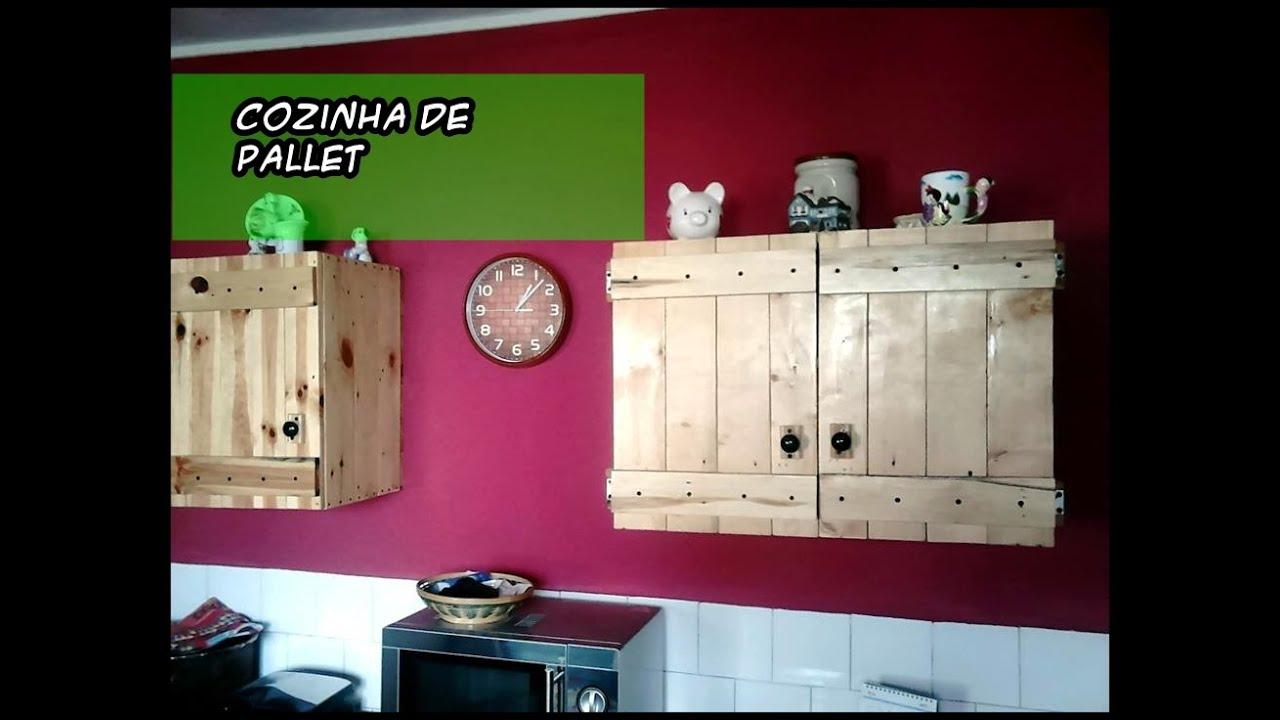 Cozinha de pallet AutoLuxo BrevePassoAPasso Tutoriais