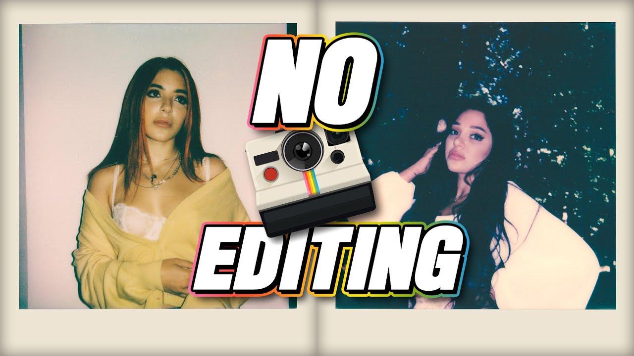 Polaroid Photoshoot Challenge: Sister vs Sister *NO EDITING*