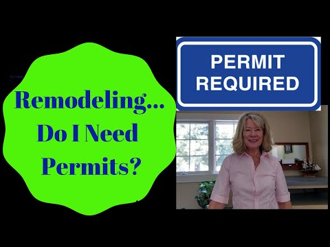 When Are Building Permits Required For Remodeling