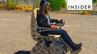 Kinetic Wheelchair Walks On Its Own