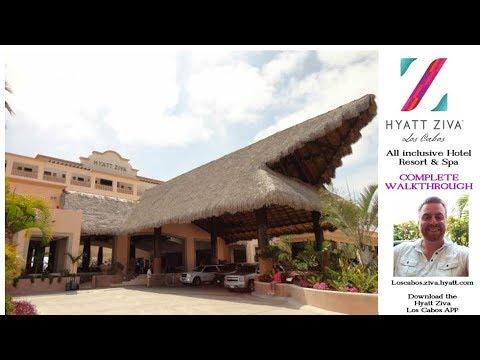Hyatt Ziva All Inclusive Resort Full Walk-thru - Total Paradise San Jose Los Cabos Mexico