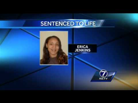 Erica Jenkins sentenced to life in prison