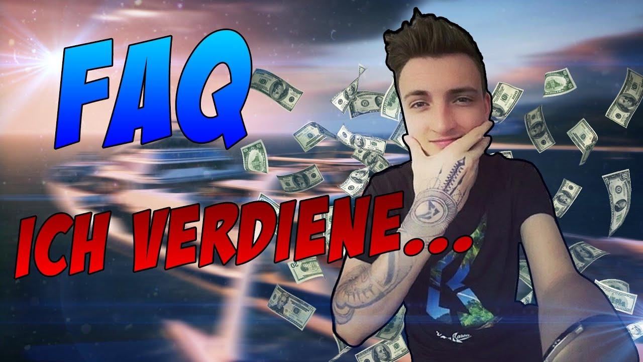 wie viel verdiene ich mit youtube