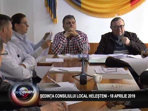 ȘEDINȚA CONSILIULUI LOCAL HELEȘTENI - 18 APRILIE 2019