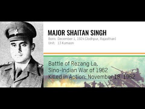 Param Vir Chakra Major Shaitan Singh