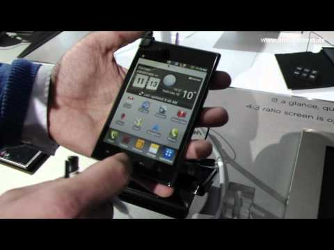LG Optimus Vu - Hands-On - MWC 2012 - androidnext.de