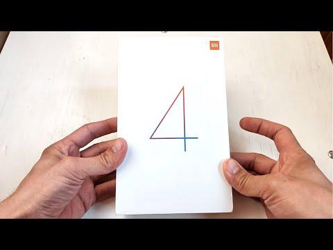 Просто распаковка Xiaomi Mi Pad 4 4/64