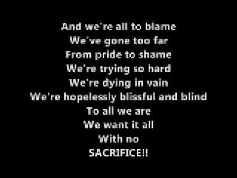 "Sum 41 - ""We're All To Blame"" Lyrics"