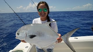 Epic Permit, Amberjack, Grouper and Snapper Fishing in Florida Keys!