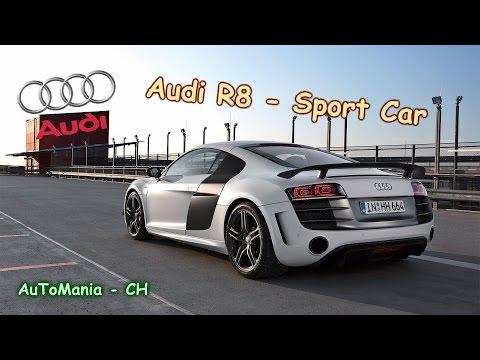 Audi R8 - Sport Car #2 & Exhaust Sounds, New Compilation 2015,(Burnout, Drift, Acceleration) -  HD