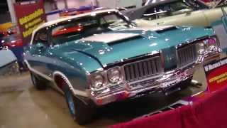 2013 Muscle Car And Corvette Nationals Coverage:  1970 Oldsmobile 442 W-30 Convertible Video V8TV