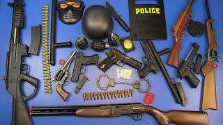 BOX OF TOYS ! Guns Toys - Realistic Rifle Toys&Military,Police Equipment Toys