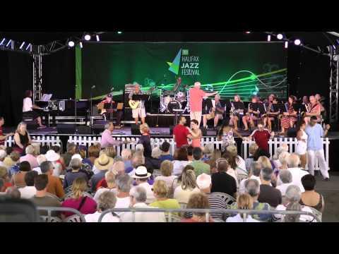 Chebucto Band at Halifax Jazz Festival July 12 2014