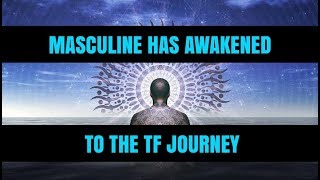 DM HAS AWAKENED TO THE TW N FLAME JOURNEY.