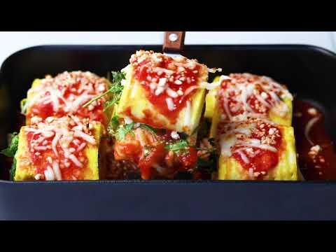 Egg Lasagna Roll Ups (Keto)