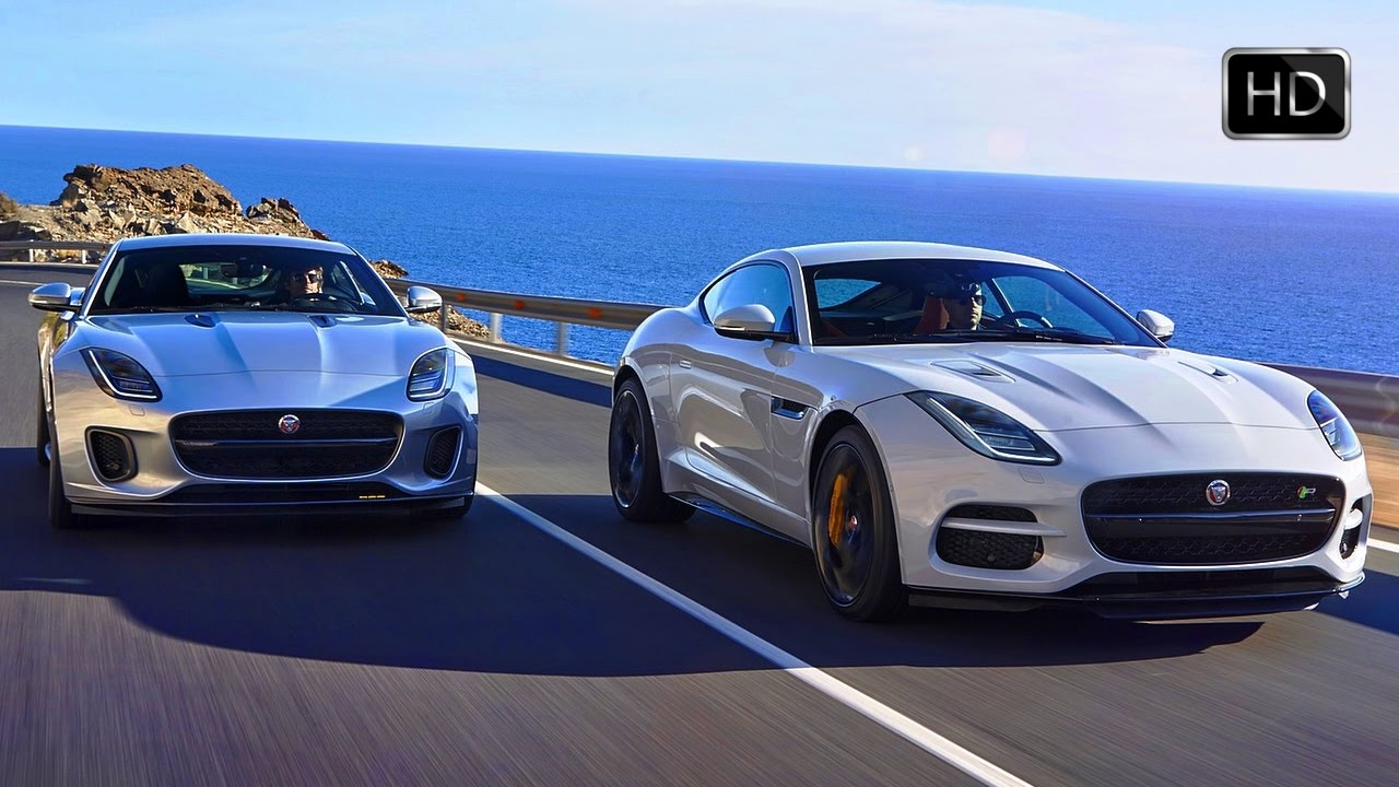 2018 Jaguar F Type R Coupe Dynamic Convertible And 400 Sport Design Drive Hd
