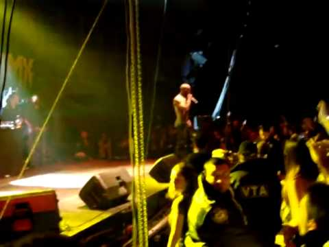 DMX - X Gon' Give It To Ya Live @ Sofia Bulgaria 03.01