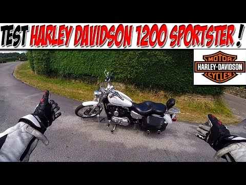 #MotoVlog 82 : TEST HARLEY DAVIDSON 1200 SPORTSTER / Route 66 ON !