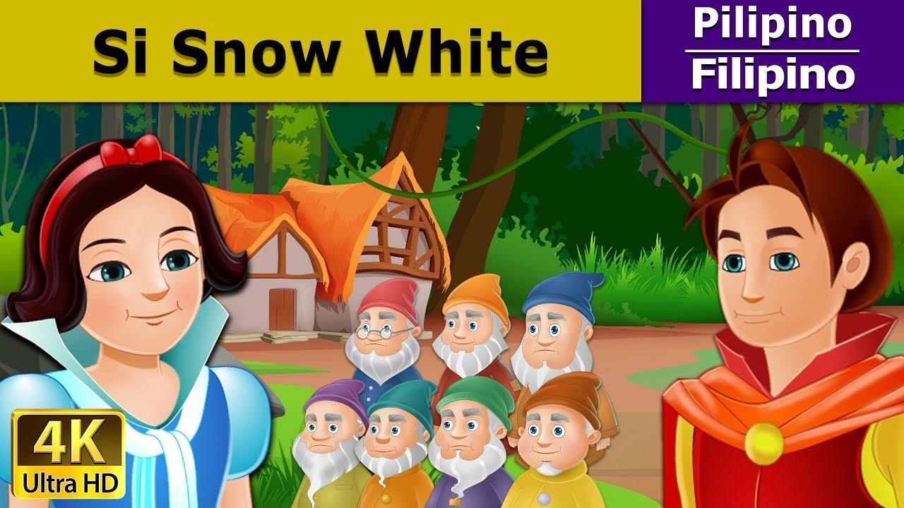 Si snow white at ang pitong duwende kwentong pambata for Maison des 7 nains
