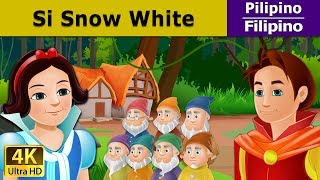 Si Snow White at ang Pitong Duwende - kwentong pambata - 4K UHD - Filipino Fairy Tales