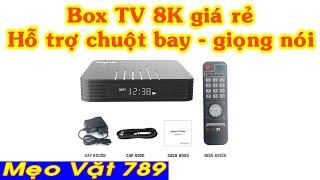 Đập hộp dùng thử Box TV 8K và cái kết Android Tivi Box Magicsee N5 Max - Mẹo Vặt 789