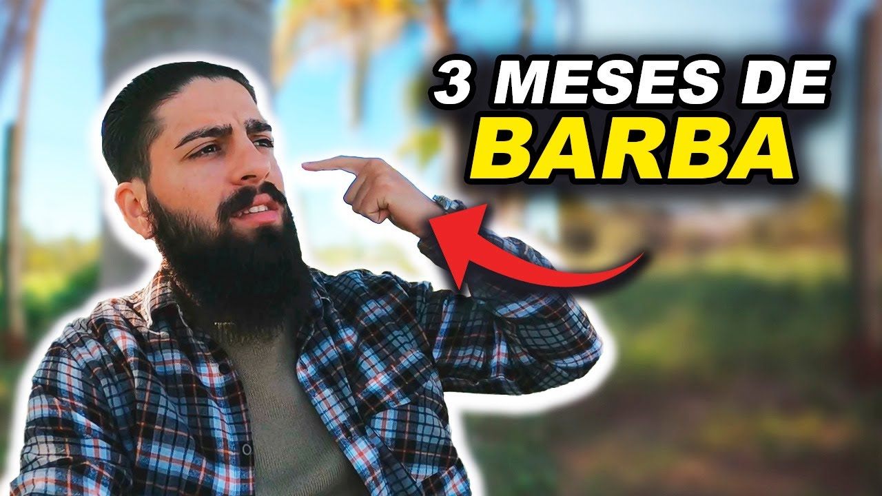 3 Meses de Barba - #Projeto365 | BARBA PRETA