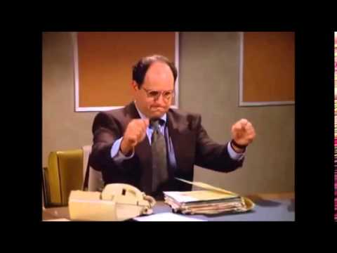 "George Costanza ""working"""