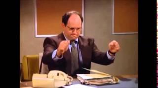 "George Costanza ""working"""