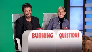 Ray Romano Answers Ellen's 'Burning Questions'