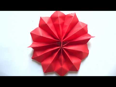 How To Make a Beautiful Paper Flower | DIY Flower Decorations | Paper Flower Making
