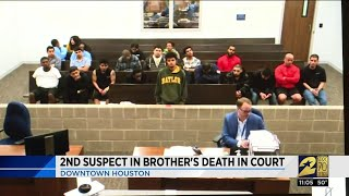 Second man arrested in rooftop shooting in court