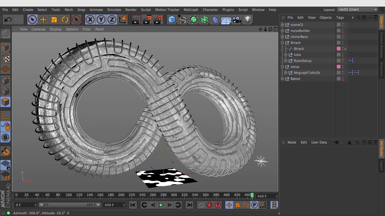 MographToNulls for C4D R20 – Free Download Python Script Tag