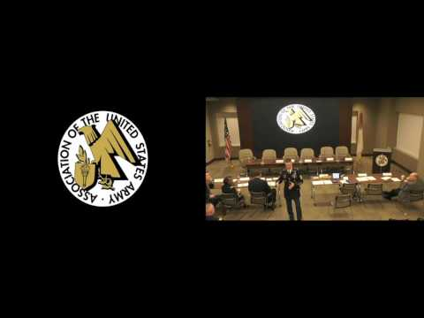 2017 Installations Hot Topic - Sgt. Maj. of the Army Dan Dailey