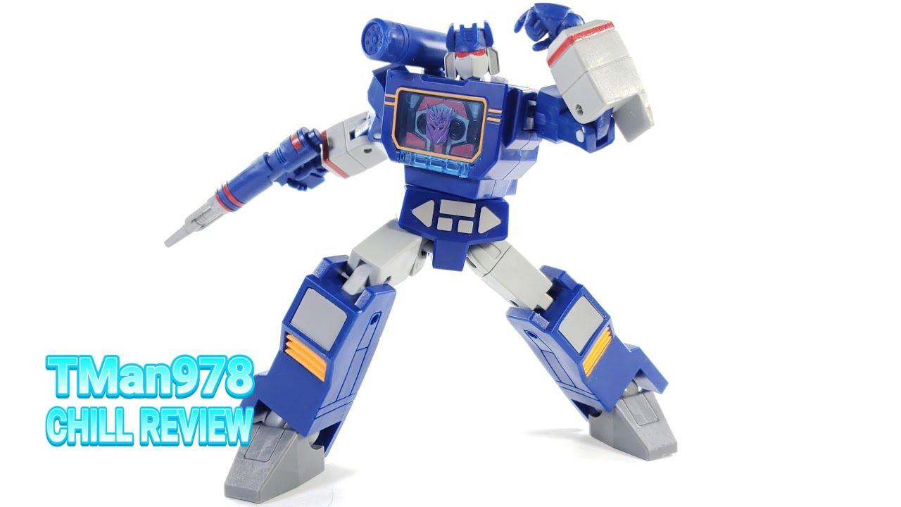 Transformers R.E.D. G1 Soundwave CHILL REVIEW