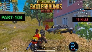 "PUBG MOBILE | AMAZING ""13 KILLS"" INTENSE MATCH WITH SURPRISE ENDING"