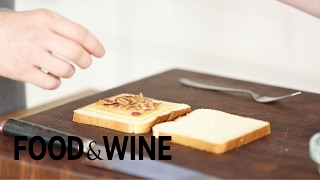 How to Make Stuffed Grilled Cheese Like Andrew Zimmern  Mad Genius Tips  Food & Wine