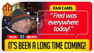 FRED BETTER THAN KANTE! Chelsea vs Manchester United Fan Cam 3