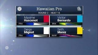 2016 Hawaiian Pro: Round Two, Heat 15
