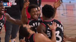 OG Anunoby Hits Buzzer-Beater Game-Winner With 0.5 Seconds Left In Game 3